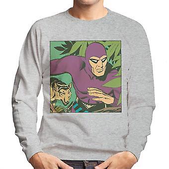 The Phantom & His Wolf Devil Men's Sweatshirt