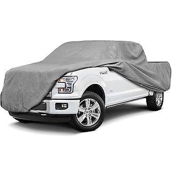 Superior Pickup Truck Cover - Waterproof All Weather Breathable Outdoor Indoor - Gray - Fits Pickup Trucks with Extended Cab, Standard Bed up to 20' 9