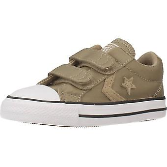 Converse Star Player 2v Ox Color Khaki Schuhe