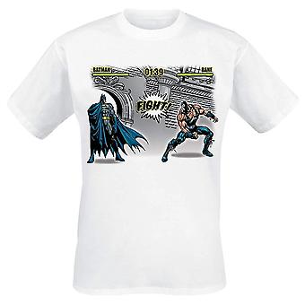 Batman Unisex Adultos Luta Design T-Shirt