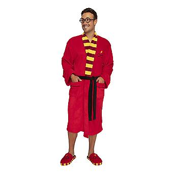 Adults Where's Harry? Harry Potter Glasses and Lightening Robe Dressing Gown