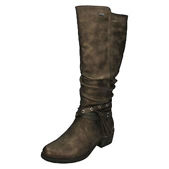 Ladies Remonte Warmlined Knee High Boots R1170