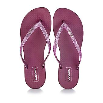 Coloko Ergonomic Footbed Flip-Flops