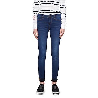Desigual Women's Irati Slim Cut Basic Denim Jeans