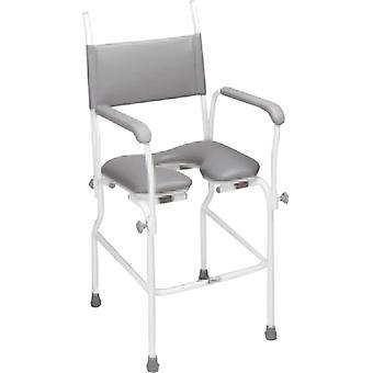douchestoel - toiletstoel - extra stevig - max 200 KG gebruikersgewicht - hoogte verstelbaar