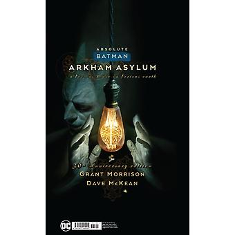 Absolute Batman Arkham Asylum by Grant Morrison