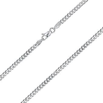 20'quot; 925 Silver Curb 8.00 Gram Chain By TOC 'quot;Hand Finished'quot;