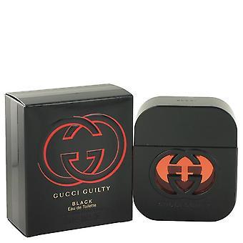 Gucci guilty black eau de toilette spray by gucci 500597 50 ml