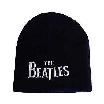 البيتلز Beanie قبعة قطرة تي باند شعار سونيك الفضة الرسمية الجديدة الأسود