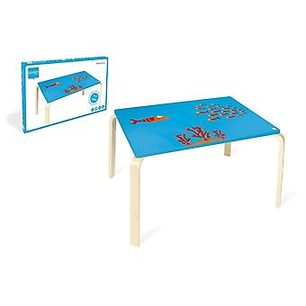 Scratch Children's Table Maurice - Fish