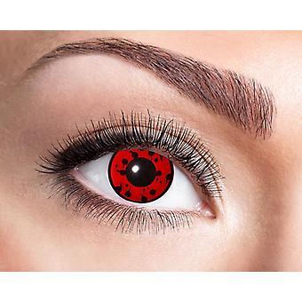 Bloody ogen bloed horror Halloween contactlenzen
