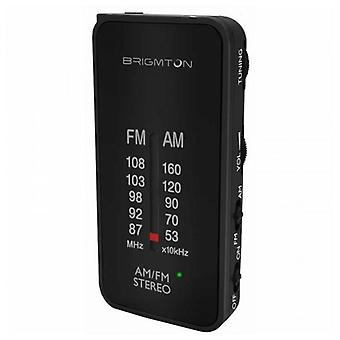 Rádio do transistor BRIGMTON BT224 preto