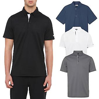 Wolsey Mens Temperature Regulating Stretch Pique Golf Polo Shirt