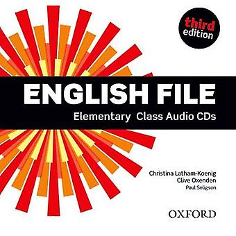 English File third edition Elementary Class Audio CDs by Oxenden & CliveLathamKoenig & ChristinaSeligson & Paul