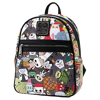 The Nightmare Before Christmas Chibi Mini Backpack