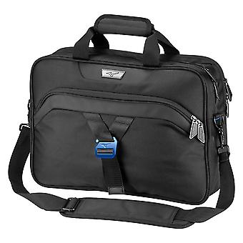 Mizuno Mens 2020 Padded Strap Comfort Tablet Laptop Pocket Briefcase Bag