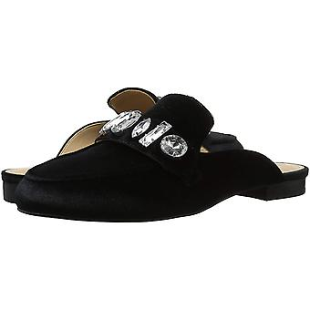 The Fix Womens Francesca Fabric Almond Toe Loafers