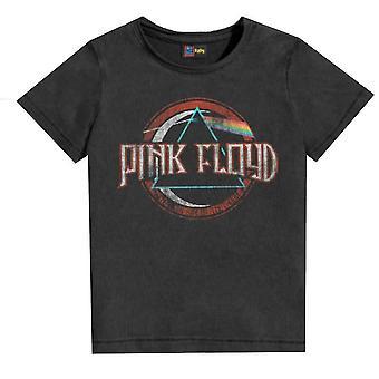Amplified camiseta rosa floyd on the Run Kids