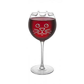 BigMouth Inc. Cat Wine Glass