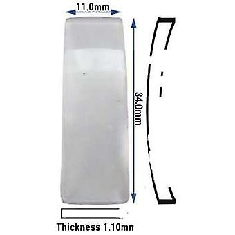 Calvin klein vetro minerale generico 11.00 x 34.00mm (1.10mm di spessore) c.k. generico