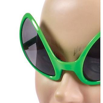Bristol Novelty Unisex Adultos Alien Headband y Gafas Set