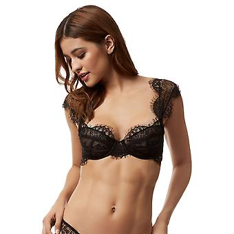 Bluebella 40163 Women's Marina Black Lace Underwired Full Cup Bra