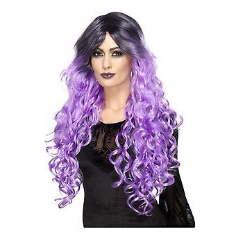 Peruki Glamour wig fioletowy liliowy