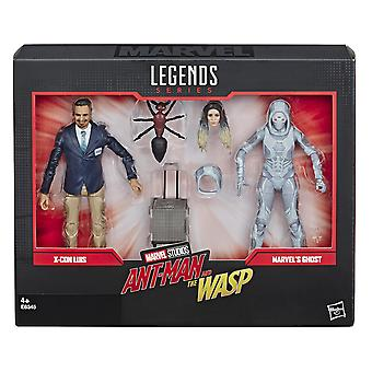 Marvel Legends X-Con Luis y Ghost 6