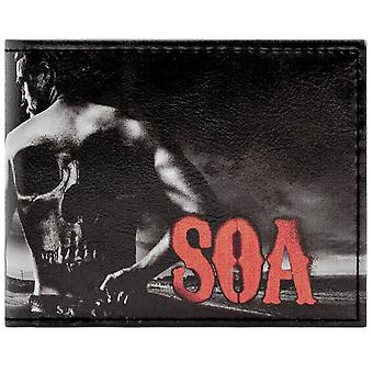 Fox Sons of Anarchy Jax Teller Coin & Card Bi-Fold Wallet