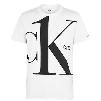 Calvin Klein Jeans Mens Logo t-shirt Crew Neck T-Shirt T Shirt Tee Top