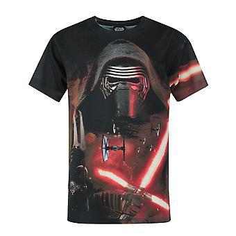 Star Wars Kylo Ren Lightsaber Sublimation Boy's T-Shirt