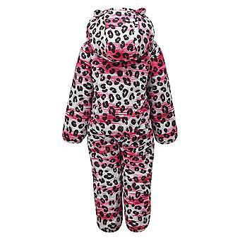 Dare 2B Childrens/Kids Bambino luipaard print Snowsuit