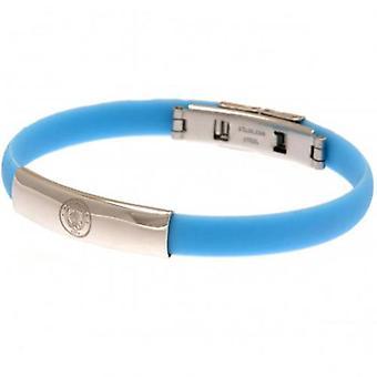 Manchester City färg silikon armband