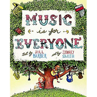 Music Is For Everyone - 9781771085359 Book