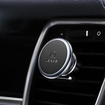 Usams forte air magnétique vent voiture titulaire de voiture monter pour 3.5-7.0 pouce téléphone intelligent iphone samsung huawei xiaomi