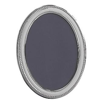 Orton West Oval Photo Frame 5x7 - Silver