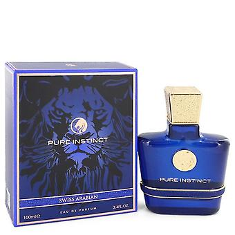 Swiss Arabian Pure Instinct Eau De Parfum Spray By Swiss Arabian 3.4 oz Eau De Parfum Spray