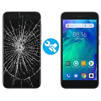 LCD display touch screen glas digitizer assembly til Xiaomi Redmi Go-sort