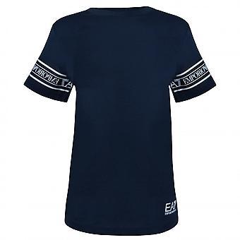 EA7 Boys EA7 Boy's Navy Blue T-Shirt