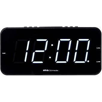 Silva Schneider UR-D 901 PLL Radio alarm clock FM Black