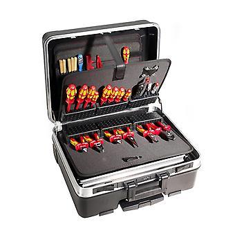 Components Werkzeugkoffer Limited Edition Modul 2 Rollen, Schwarz