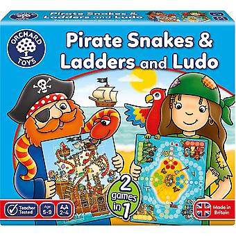 Orchard Toys Pirate Snakes & Ladders And Ludo