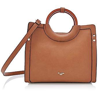 Dune Dwoodly - Brown Women's Tote Bags (Tan-Synthetic) 30x13.5x21.5 cm (W x H L)