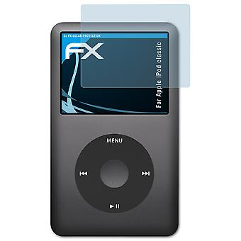 atFoliX Glass Protector compatible with Apple iPod classic Glass Protective Film 9H Hybrid-Glass