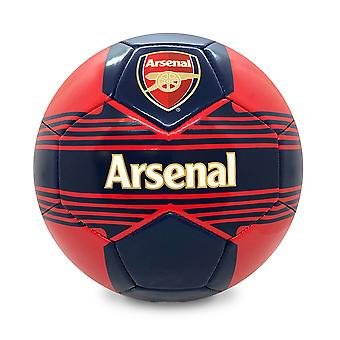 Arsenal FC Official Gift Size 4 Crest Football Red
