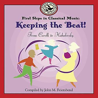 John M. Feierabend - First Steps in Classical Music: Keeping the Beat [CD] USA import