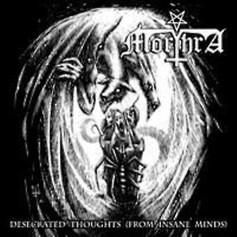 Morthra - Desecrated Thoughts (From Insane Minds) [CD] USA import