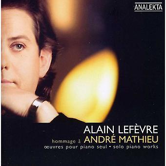 A. Mathieu - Hommage   Andr  Mathieu [CD] USA import