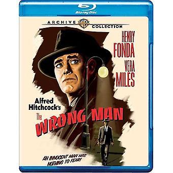 Wrong Man [Blu-ray] USA import