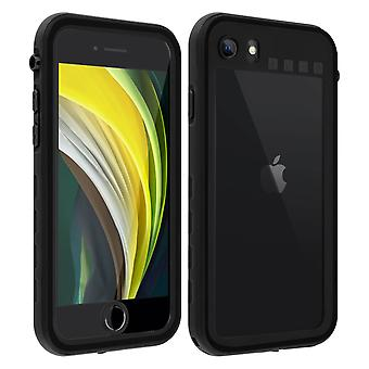 Protective Case for Apple iPhone 7/8/SE 2020 Waterproof Screen protector black